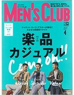 MEN'S CLUB4月